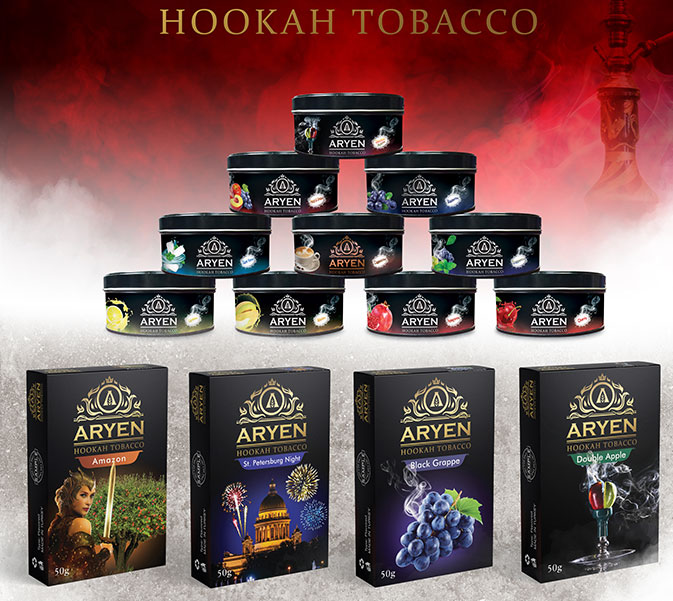 Aryen Hookah Tobacco Production